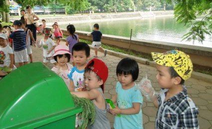 Phương pháp giáo dục bảo vệ môi trường cho trẻ mầm non
