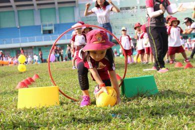 Hè đến nở rộ các lớp vận động thể thao cho trẻ em