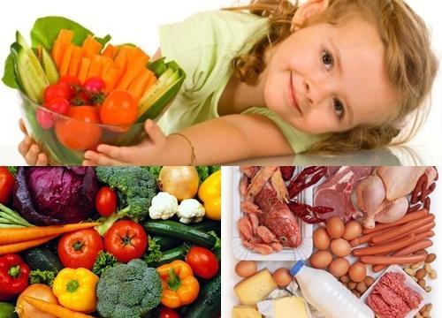 Chế độ dinh dưỡng cho trẻ mắc bệnh thiếu máu