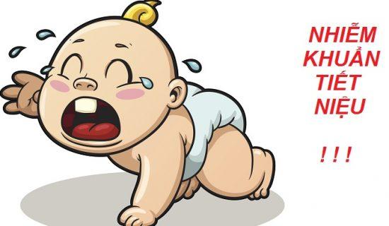 Các yếu tố gây ra bệnh nhiễm trùng đường tiểu ở trẻ