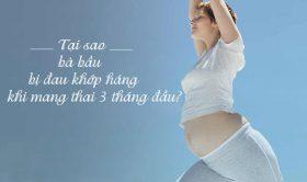 Nguyên nhân và cách khắc phục chứng đau khớp háng khi mang thai